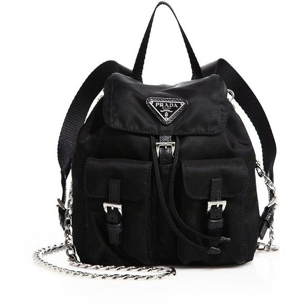 f54cb0bfe310 Prada Vela Mini Cross Body Backpack | HEWI London