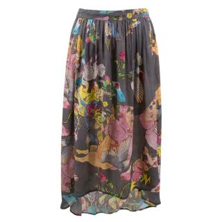 227e5d441866 Zadig & Voltaire Patterned Skirt
