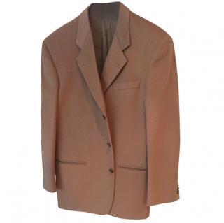 Valentino Homme Cashmere & Wool Camel Blazer