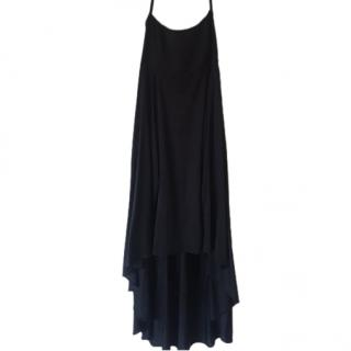 YSL Silk Black Dress