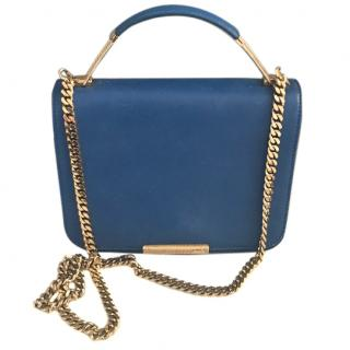 Emilio Pucci limited edition blue shoulder/top handle bag
