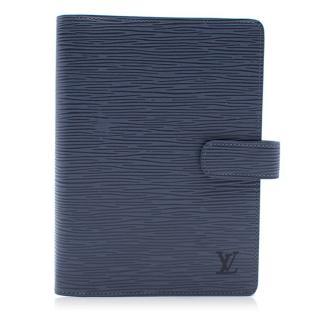 Louis Vuitton Blue Agenda