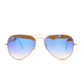 Ray-Ban RB3025 112/17 58-14 gold sunglasses