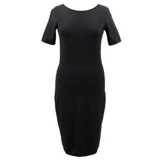 Escada Sport Black Body-con Midi Dress