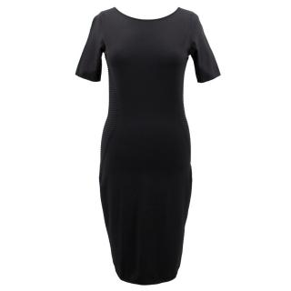 Escada Sport Black Body-con Midi Dress