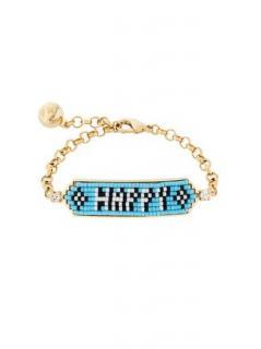 Shourouk 2  Love & Happy bracelets RRP �150