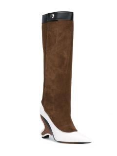 MARNI Sculpted Heel Boots