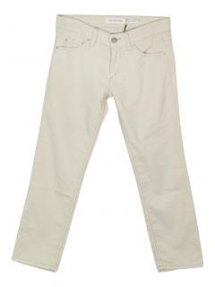 Isabel Marant Etoile Ike cropped corduroy trousers
