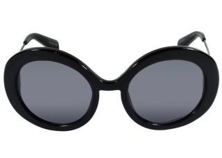 YOHJI YAMAMOTO black round sunglasses