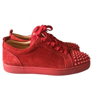 Christian Louboutin Red Trainers