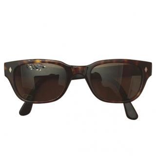 Dolce & Gabbana tortoiseshell perspex sunglasses