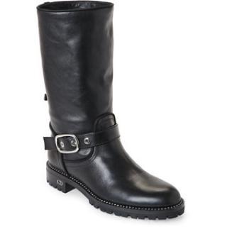 Dior Rebelle Shiny Calfskin Boots