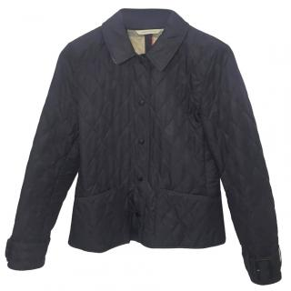Burberry London Purple Quilted Jacket