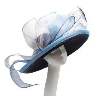 Siggi Bespoke Navy Blue and Sky Blue Hat