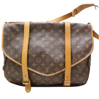 Louis Vuitton Saumur 43  Brown Monogram Shoulder Bag