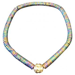 Luis Morais 14ct Gold medium puzzle bracelet  RRP �249.00