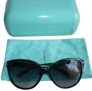 Tiffany & Co Black Cat Eye Sunglasses