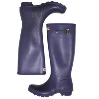 Hunter Reflective Purple Rain Boots