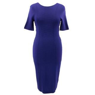 Escada Sport Blue Bodycon Dress