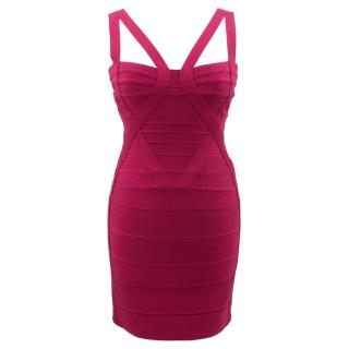Herve Leger Zinnia Siganture Bandage Dress