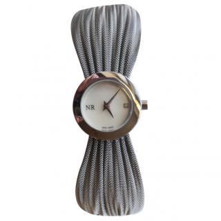 Nina Ricci Diamond Detail Dress Watch