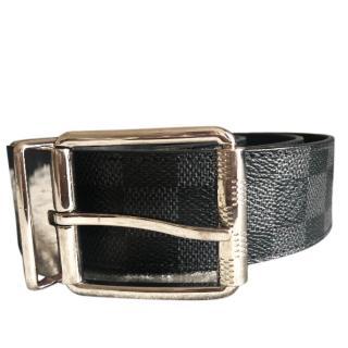 Louis Vuitton Reversible black Damier Belt
