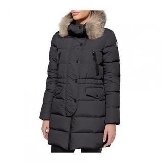 Moncler Black Fragonette Coat