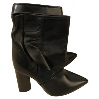 Iro Black leather ankle Boots