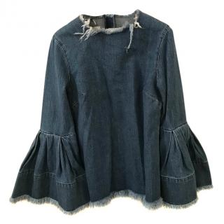 Marques Almeida Jeans Top Size Small