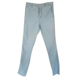 Miu Miu button fly jeans
