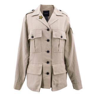 Smythe Bellows Unisex Pocket Army Jacket