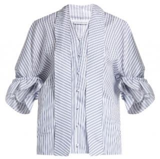 J W Anderson striped  blouse Size 12