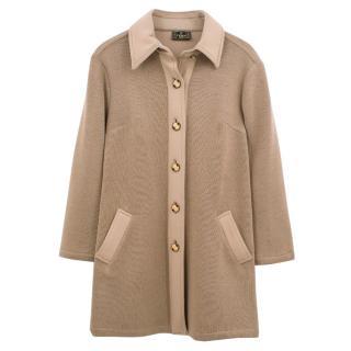 Fendi Camel Coat