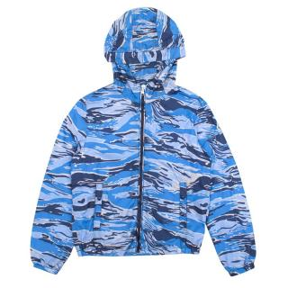 Moncler Blue Camouflage Jacket
