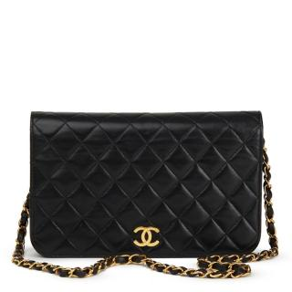 Chanel Quilted Lambskin Vintage Small Classic Single Flap Bag
