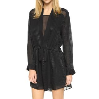 Michelle Mason silk shirt dress
