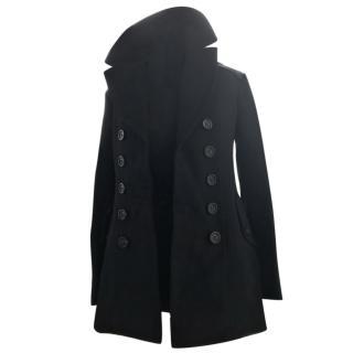Burberry Navy  Pea Coat