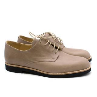 T&F Slack Shoemakers Beige Brogues