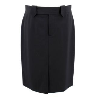 Gucci Black Suit Skirt