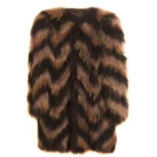 Isabel Marant Thai fur coat