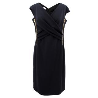 Moschino Black Zipper Dress