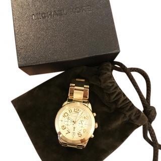 Michael Kors Gold Metal Watch