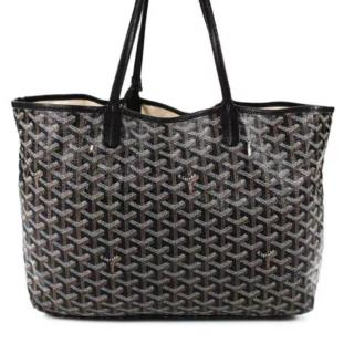 Goyard Black Saint Louis pm tote