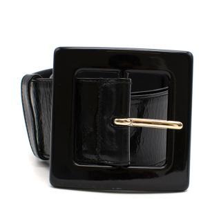 Yves Saint Laurent Patent Leather Waist Belt