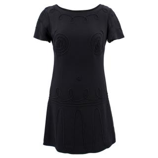 Moschino Cheap And Chic  Short Black Dress