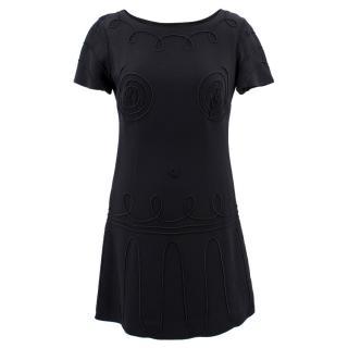 Moschino Cheap And Chic  Short Black Dress