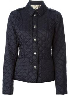 BURBERRY Brit Navy Quilted Jacket