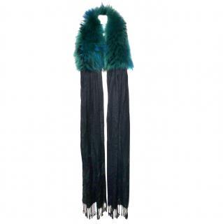Dolce & Gabbana Fur Scarf NEW