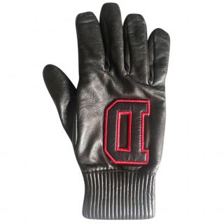 Dsquared leather gloves
