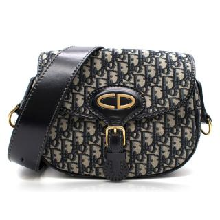 Dior Monogram Canvas and Leather Bag